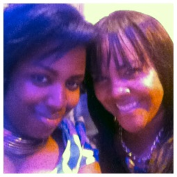 Me and Taja of Curvy Urbane.