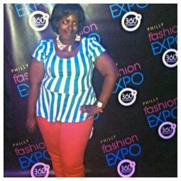 My blogger boo Taja of Curvy Urbane!