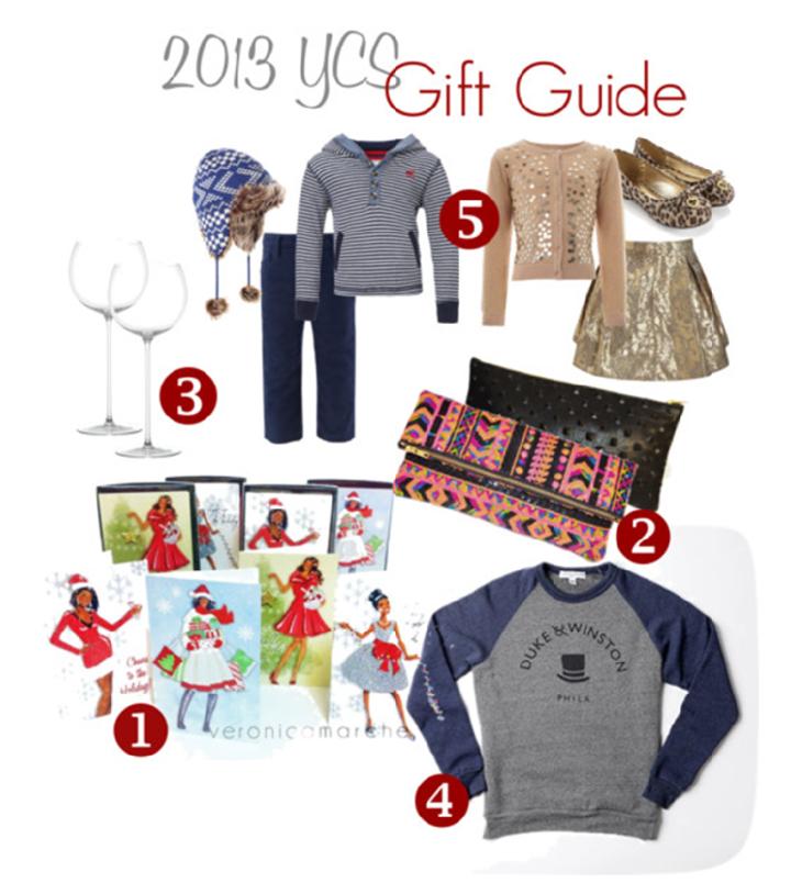 2013 YCS GiftGuide