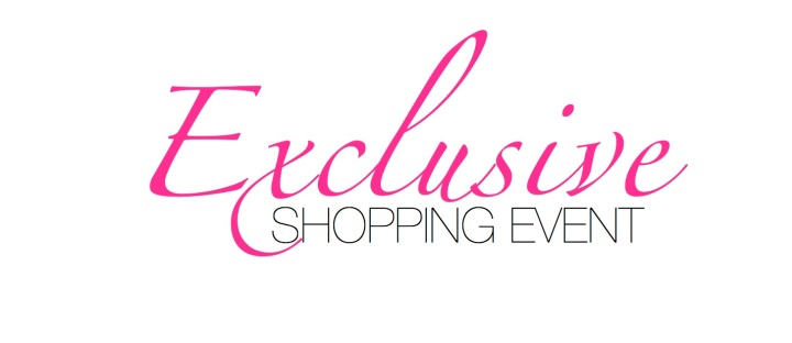 You're Invited: An Exclusive Shopping Event