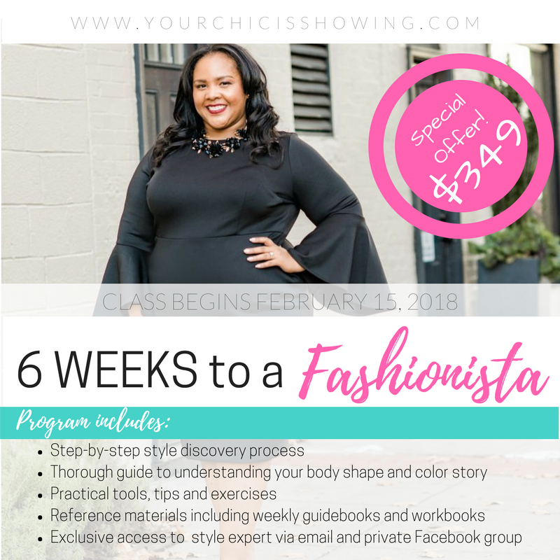 6 Weeks to a Fashionista Promo